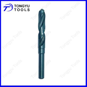 "Reduced Shank to 1/2"" HSS Drill Bit Roll Forged Metal Drilling"
