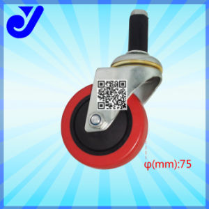 Jy-304|PU Medium Duty Caster for Trolley