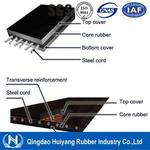 Heat Resistant Industrial Steel Cord Conveyor Belt (ST630-7500) pictures & photos