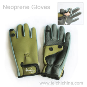 Top Quality Fishing Gloves Wholesale Neoprene Gloves pictures & photos