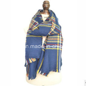 New Fashion Plaid Winter Scarf for Women pictures & photos