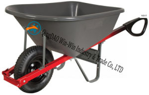 Total Control 6 Cubic Foot Steel Wheelbarrow with pictures & photos