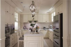 New Design Solid Wood Kitchen Cabinet Home Furniture#194 pictures & photos
