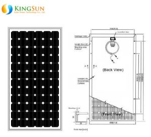 180W Middle East Standard Mono Solar Power Modules pictures & photos