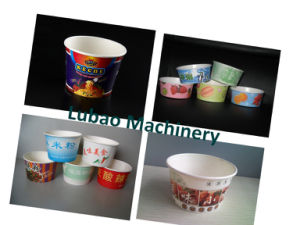 Paper Bowl Machine for Double PE Paper Bowl
