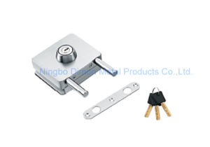 Dimon Sliding Glass Door Lock Single Door Single Cylinder Central Lock (DM-DS 120-5) pictures & photos