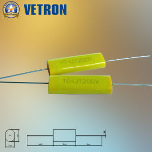 Yellow Axial Capacitor for Snubber Mkph Series