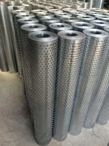 Galvanized Punching Hole Mesh in Guangzhou Supplier pictures & photos