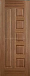 Natural Teak Wood Veneered Door Skin pictures & photos