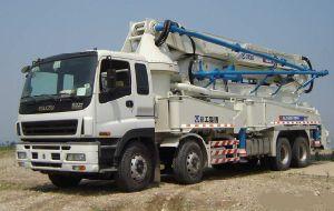 Isuzu 8X4 12wheel Concrete Pump Truck 4boom pictures & photos