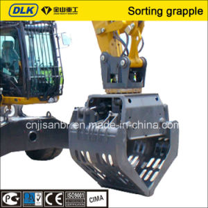 Sorting Grapple Suit for 4-6 Tons Excavator pictures & photos