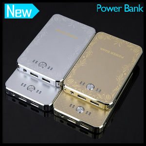 Dual USB Phone Power Bank 8000mAh with Lamp pictures & photos