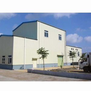 Pre Engineered Steel Structure Manufacturing Workshop Building pictures & photos