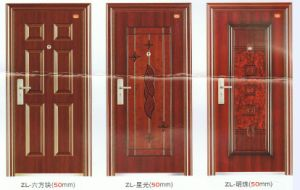 High Quality Customized Steel Doors pictures & photos