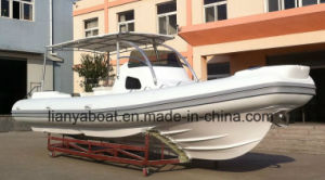 Liya 27 Feet Quality Cabin Inflatable Boat Rib Boat Manufacturer pictures & photos