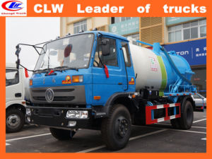 Dongfeng 4*2 Vacuum Tank Truck pictures & photos