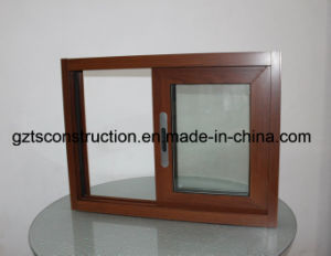 100 Series Aluminium Profile Double/Single Glazed Sliding Window with Vent pictures & photos