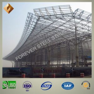 High Qualified Prefab Steel Pipe Truss Railway Station