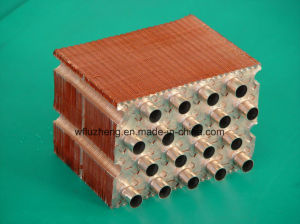 Copper Fin Tube Heat Exchanger, Hot DIP Tin Soldering Fins pictures & photos
