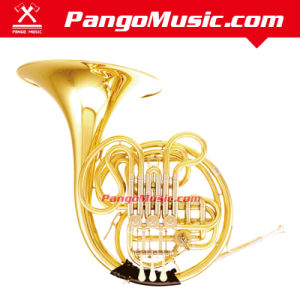 Bb Tone Gold Lacquer French Horn (Pango PMFH-7900) pictures & photos