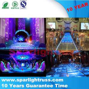 China Wholsale Wedding Glass Moving Stage Plexiglass Stage pictures & photos