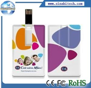 Logo Printing USB Memory Stick Card pictures & photos