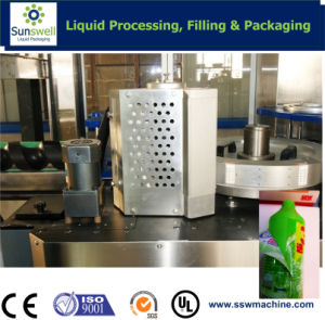 Hot Melt Glue Labeling Machine (SSWL-6) pictures & photos