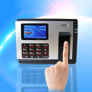 Webserver Funcion /3 Inch HD Fingerprint Reader Access Control with Time Attendance Machine with Built-in Battery (IN04-A) pictures & photos
