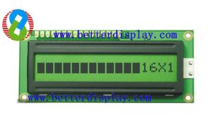 1601 LCD Module (16*1 char *1lines with 5*7dots) pictures & photos