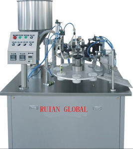 Semi Automatic Filling Sealing Machine for Cosmetic Cream pictures & photos