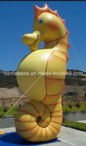 High Quality Inflatable Sea Horse Cartoon