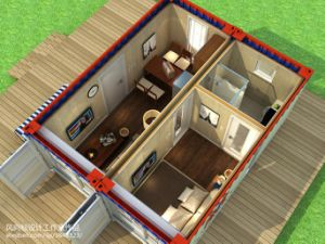 Good Designed Luxury 2 Bedroom Container House pictures & photos