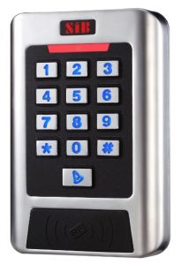 New 2 Relays Metal Keypad Access Control RFID Reader Device (CC2EM) pictures & photos