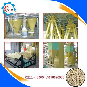 5t/H Full Automatic Animal Feed Pellet Production Line pictures & photos