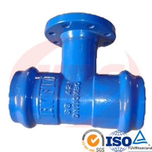 Ductile Cast Iron Fitting for PVC Pipe pictures & photos