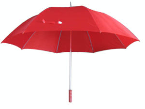 29inch Manual Open Double Ribs Golf Umbrella (GU003) pictures & photos