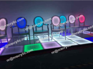 Acrylic LED Chair