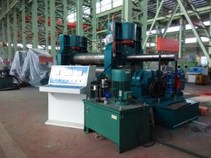 Plate Rolling Machine (Hydraulic Upper-Roller Universal Plate Rolling Machine)