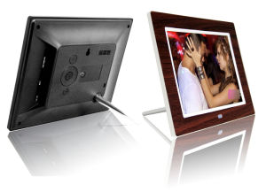 8 Inch Wooden Full Function Digital Photo Frame OEM ODM pictures & photos