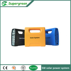 5W Solar Panel 5W Solar DC Power System Home Use pictures & photos