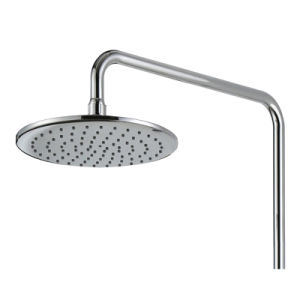 Brass Shower Faucet with Slide Bar Hand Shower and Rainfall Shower Head pictures & photos