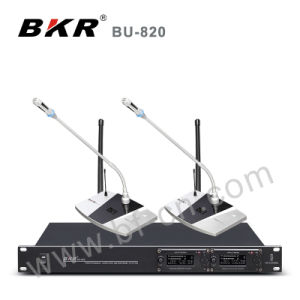 UHF 2 Channel Infrared Microphone System pictures & photos