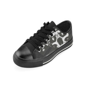 Style No Custom Sneaker 028 Low Cut Print Unisex Canvas Casual Shoes Custom Canvas Sneakers pictures & photos