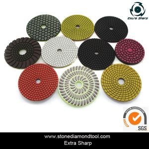 Diamond Floor Polishing Pad pictures & photos