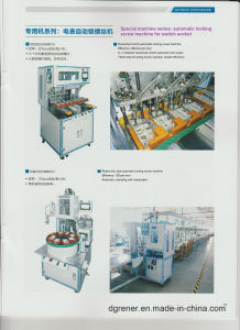 Special Series: Automatic Locking Screw Machine for Electric Meter pictures & photos