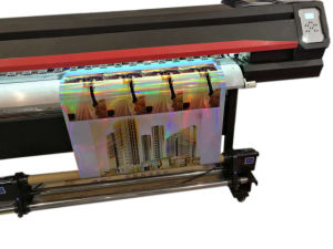 1.8m Vinyl Express VI Dx5 Eco Solvent Printer with 2 or 1 Head pictures & photos
