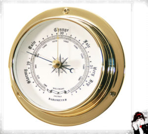Marine Barometer Brass Case Dial 120mm pictures & photos