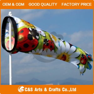 100% Polyester Car Flag & Flagpole pictures & photos