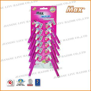 Popular Good Quality Compete with Schick Hot Selling Shaving Disposable Razor pictures & photos
