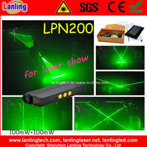 200MW Green Laser Light Pen Pointer for Laser Man Show pictures & photos